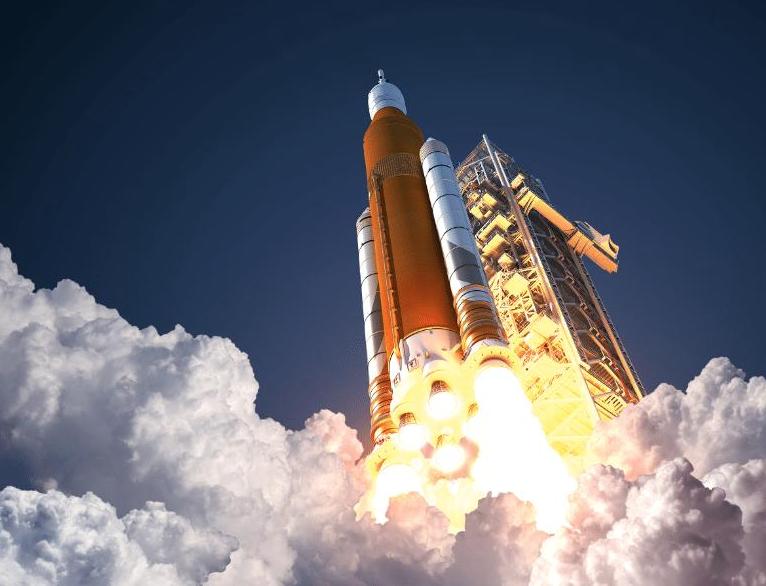 rocket with carbon foam